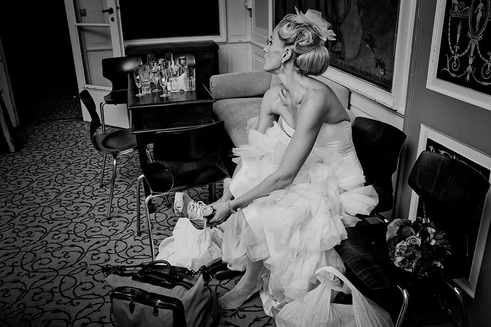 Dokumentarisk bryllup fotograf